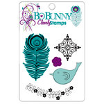 Bo Bunny Press - Peacock Lane Collection - Clear Acrylic Stamps - Peacock Lane Clearly