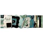 Bo Bunny Press - Mama-razzi Collection - Mini Edgy Album Paper and Die Cut Pad - 6.25 x 7.25, BRAND NEW