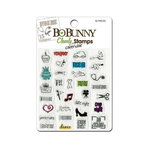 Bo Bunny - Clear Acrylic Stamps - Remind Me