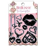Bo Bunny - Smoochable Collection - Clear Acrylic Stamp