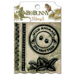 Bo Bunny - Zoology Collection - Clear Acrylic Stamp