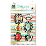 Bo Bunny Press - Ad Lib Collection - Metal Embellishments - Trinkets