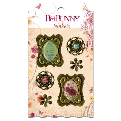 Bo Bunny - Ambrosia Collection - Metal Embellishments - Trinkets