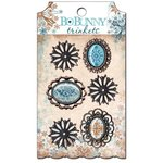 Bo Bunny Press - Snowfall Collection - Metal Embellishments - Trinkets