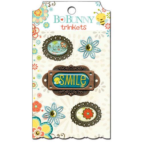 Bo Bunny - Hello Sunshine Collection - Metal Embellishments - Trinkets