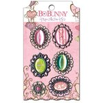 Bo Bunny - Smoochable Collection - Metal Embellishments - Trinkets
