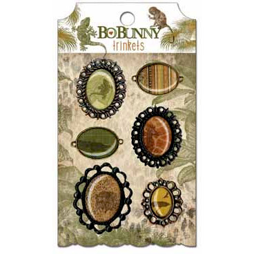 Bo Bunny - Zoology Collection - Metal Embellishments - Trinkets