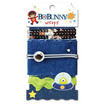 Bo Bunny - Blast Off Collection - Ribbon Wraps - Blast Off