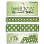 Bo Bunny Press - Double Dot - Wrapped In Ribbon - Clover