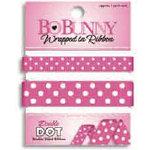 Bo Bunny Press - Double Dot - Wrapped In Ribbon - Pink Punch
