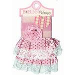 Bo Bunny Press - Crazy Love Collection - Valentine - Ribbon Wraps - Pink Rose