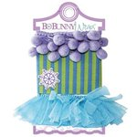 Bo Bunny - Winter Joy Collection - Christmas - Ribbon Wraps - Purple Pom Pom