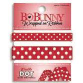 Bo Bunny Press - Double Dot - Wrapped In Ribbon - Wild Berry