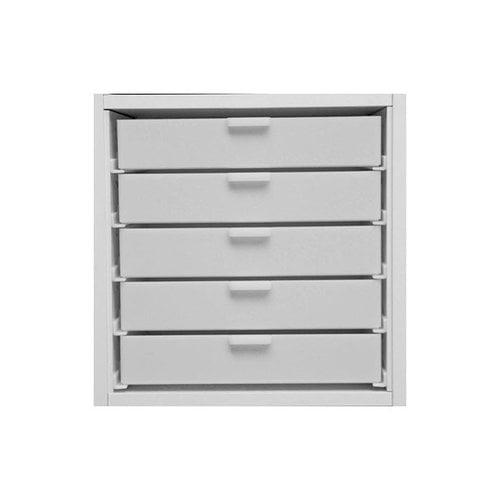 Best Craft Organizer - K2 - Five 2 Inch Storage Drawers for Ikea Kallax(Expedit) Unit