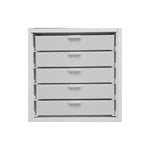 Best Craft Organizer - K2 - Five 2 Inch Storage Drawers for Ikea Kallax Unit