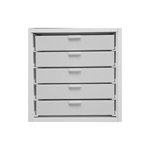 Best Craft Organizer - K2 - Five 2 Inch Storage Drawers for Ikea Kallax(Expedit) Unit