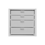 Best Craft Organizer - K3 - Two 3 Inch and Two 2 Inch Storage Drawers for Ikea Kallax(Expedit) Unit