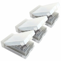 Best Craft Organizer - Wall Box Storage System - Stamp'n Die Storage - 3 Pack Set