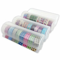 Best Craft Organizer - Medium Washi Tape and Ribbon Dispenser - 4 pack