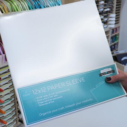 Stamp N Storage - 12 x 12 Paper Sleeve - 15 Pack