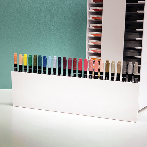 Best Craft Organizer - PortaInk - Marker Buddy - White