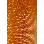 Buckle Boutique - Dazzling Diamond Self Adhesive Sticker Sheet - Orange