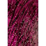 Buckle Boutique - Dazzling Diamond Self Adhesive Sticker Sheet - Hot Pink Zebra
