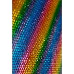 Buckle Boutique - Dazzling Diamond Self Adhesive Sticker Sheet - Rainbow