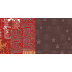CherryArte - 12x12 Paper - Morocco Collection - Spicey Notes, CLEARANCE