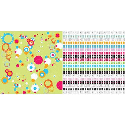 CherryArte - 12x12 Paper - Princess Collection - Sheri, CLEARANCE