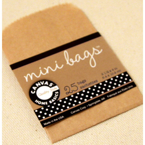 Canvas Corp - Mini Bags - Kraft