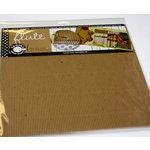 Canvas Corp - 12 x 12 Corrugated Paper - C-Flute Tile - Kraft