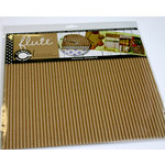 Canvas Corp - 12 x 12 Corrugated Paper - E-Flute Tile - Kraft