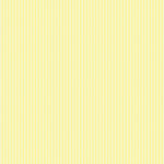 Canvas Corp - Pastel Collection - 12 x 12 Paper - Yellow and Ivory Ribbon Stripe