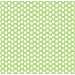 Canvas Corp - Green and Ivory Collection - 12 x 12 Paper - Dot Reverse
