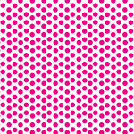 Canvas Corp - Brights Collection - 12 x 12 Paper - Hot Pink and White Dot