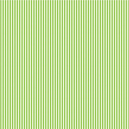 Corp Lime Green And White Collection 12 X 12 Paper Ribbon Stripe