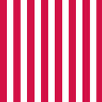 Canvas Corp - Red and White - 12 x 12 Paper - Big Stripe