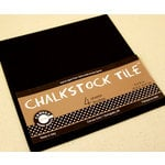 Canvas Corp - Paper Tiles - Black - Chalkstock - 6 x 6
