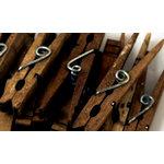 Canvas Corp - Decorative Clothespins - Jacobean