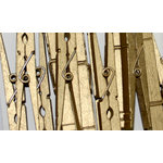 Canvas Corp - Decorative Clothespins - Gold