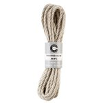 Canvas Corp - Twisted Hemp Rope - Natural - 7 Feet