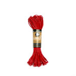 Canvas Corp - Waxed Cotton Cord - Red - 45 Feet