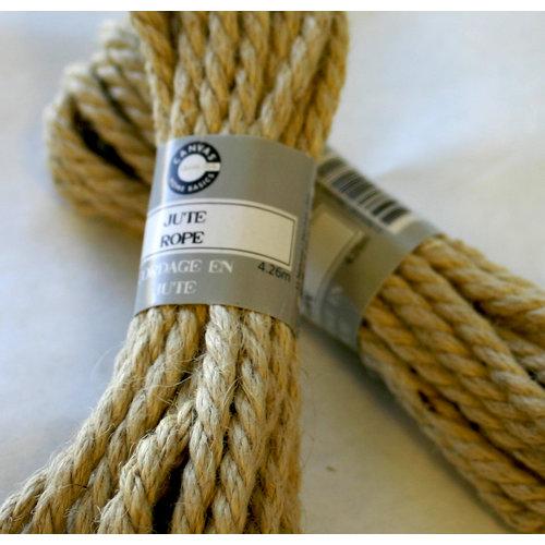 Canvas Corp - Jute Rope - Light Natural - 14 Feet