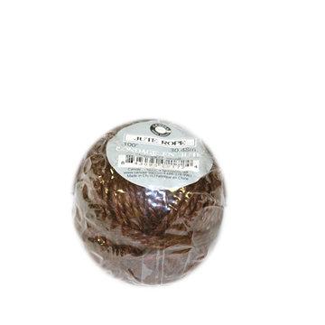 Canvas Corp - Jute Cord Balls - Chocolate - 100 Feet