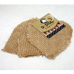 Canvas Corp - Burlap Shapes - Mini - Heart