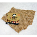 Canvas Corp - Burlap Shapes - Mini - Rectangle