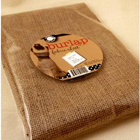 Canvas Corp - Fabric Sheet - Burlap - 30 x 36