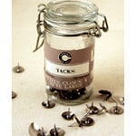 Canvas Corp - Mini Hardware Jar - Tacks - Silver