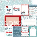 Carta Bella Paper - All Bundled Up Collection - Christmas - 12 x 12 Double Sided Paper - Journaling Cards